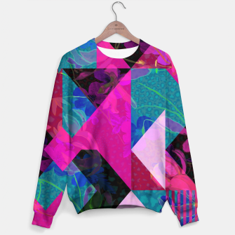 Thumbnail image of Geo Floral Sweater, Live Heroes