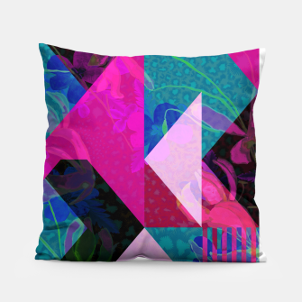 Thumbnail image of Geo Floral Pillow, Live Heroes