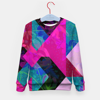Thumbnail image of Geo Floral Kid's Sweater, Live Heroes