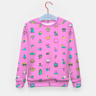 Thumbnail image of Pretty Things Kid's Sweater, Live Heroes