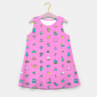 Thumbnail image of Pretty Things Girl's Summer Dress, Live Heroes