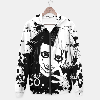 Thumbnail image of Deathco anime Sudadera con capucha, Live Heroes