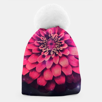 Thumbnail image of Flowers in Space Beanie, Live Heroes