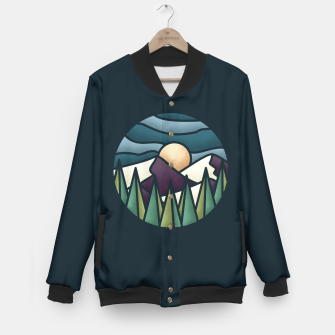 Miniaturka The Great Landscape Baseball Jacket, Live Heroes
