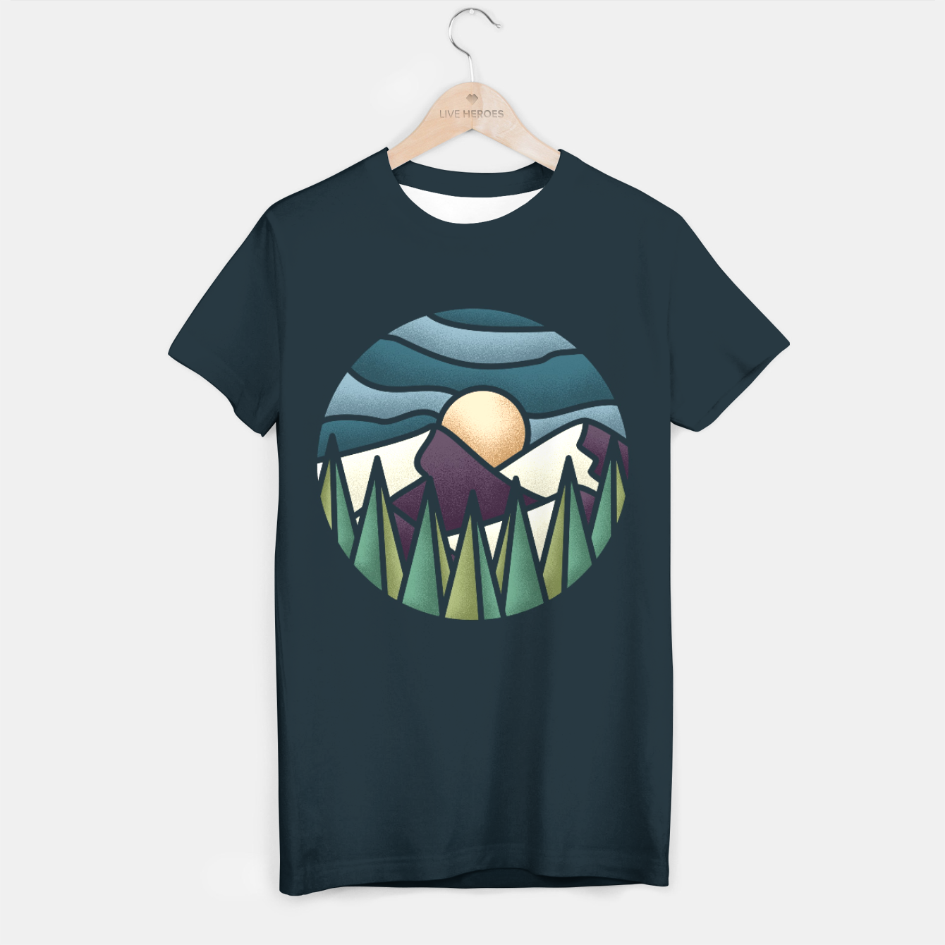 Zdjęcie The Great Landscape T-shirt - Live Heroes