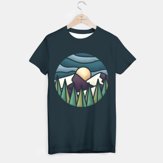 The Great Landscape T-shirt obraz miniatury