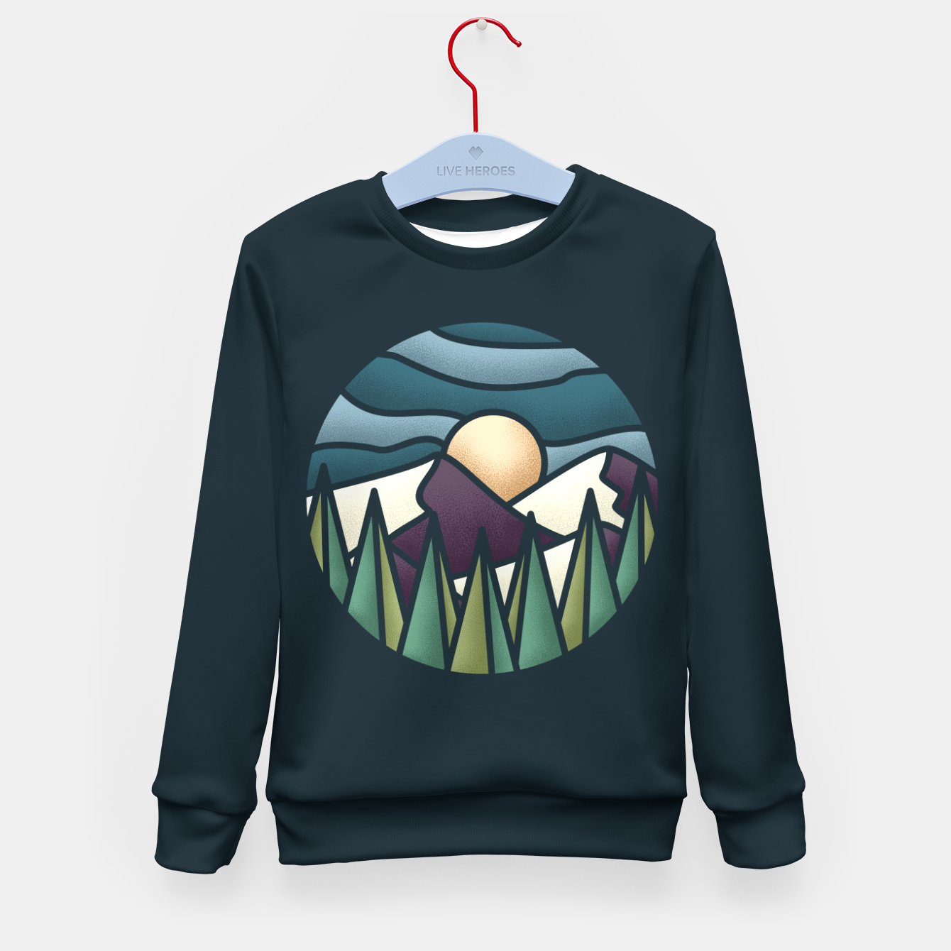 Zdjęcie The Great Landscape Kid's Sweater - Live Heroes