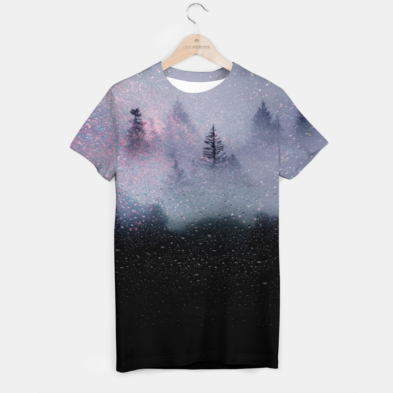 Image of The Mist of the Cosmos T-shirt - Live Heroes