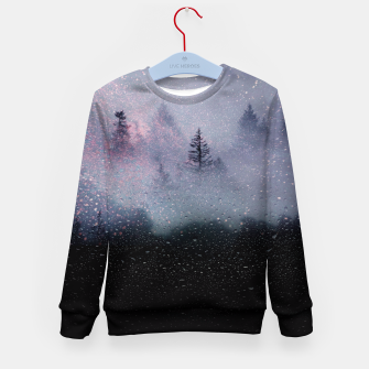 The Mist of the Cosmos Kid's Sweater thumbnail image