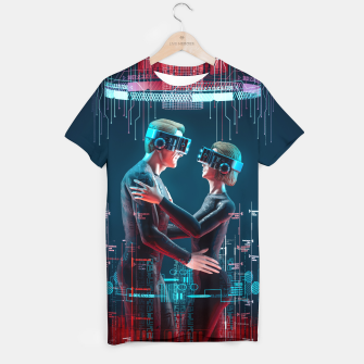 Thumbnail image of Virtual Lovers T-shirt, Live Heroes