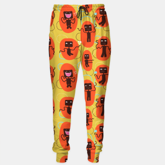Thumbnail image of Happy robots Sweatpants, Live Heroes