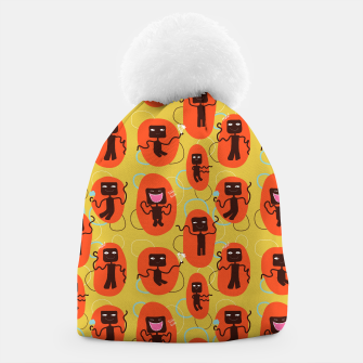Thumbnail image of Happy robots Beanie, Live Heroes