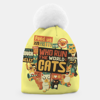 Thumbnail image of Who Run The World Cats Beanie, Live Heroes