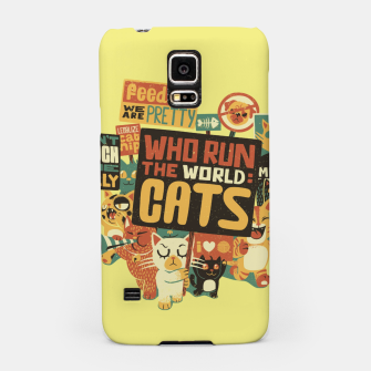 Who Run The World Cats Samsung Case thumbnail image