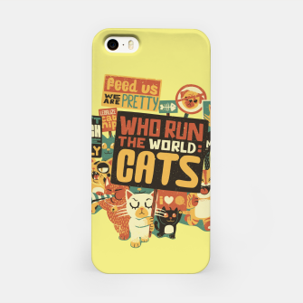 Who Run The World Cats iPhone Case thumbnail image