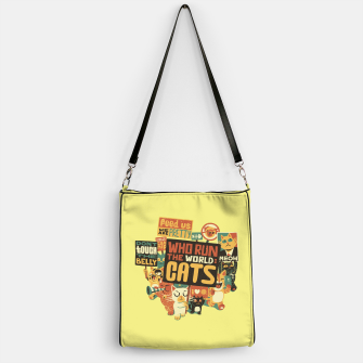 Thumbnail image of Who Run The World Cats Handbag, Live Heroes