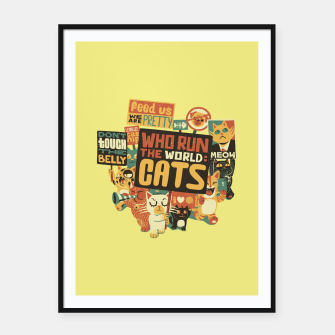 Who Run The World Cats Framed poster thumbnail image