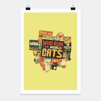Who Run The World Cats Poster thumbnail image