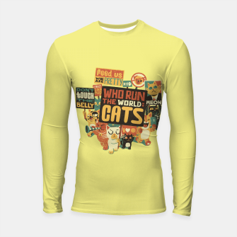 Who Run The World Cats Longsleeve Rashguard  thumbnail image