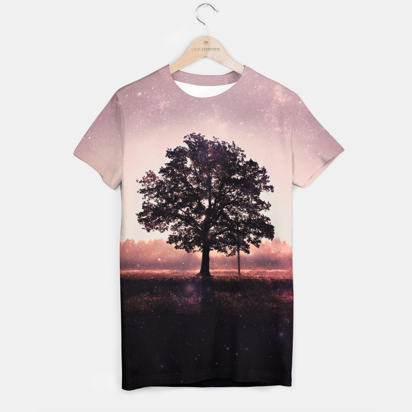 Image of The Lonely Tree T-shirt - Live Heroes
