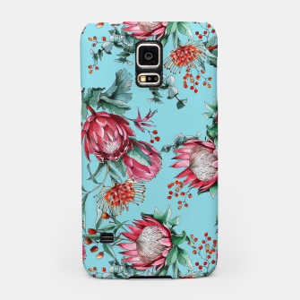 King protea flowers watercolor illustration Samsung Case thumbnail image