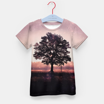The Lonely Tree Kid's T-shirt thumbnail image