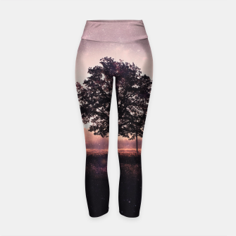 Thumbnail image of The Lonely Tree Yoga Pants, Live Heroes