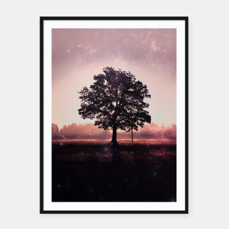 Thumbnail image of The Lonely Tree Framed poster, Live Heroes