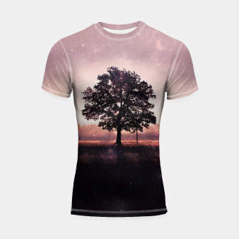 Thumbnail image of The Lonely Tree Shortsleeve Rashguard, Live Heroes