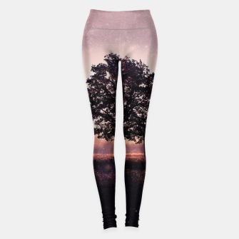 Thumbnail image of The Lonely Tree Leggings, Live Heroes
