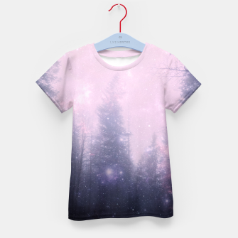 Misty Forest Kid's T-shirt thumbnail image
