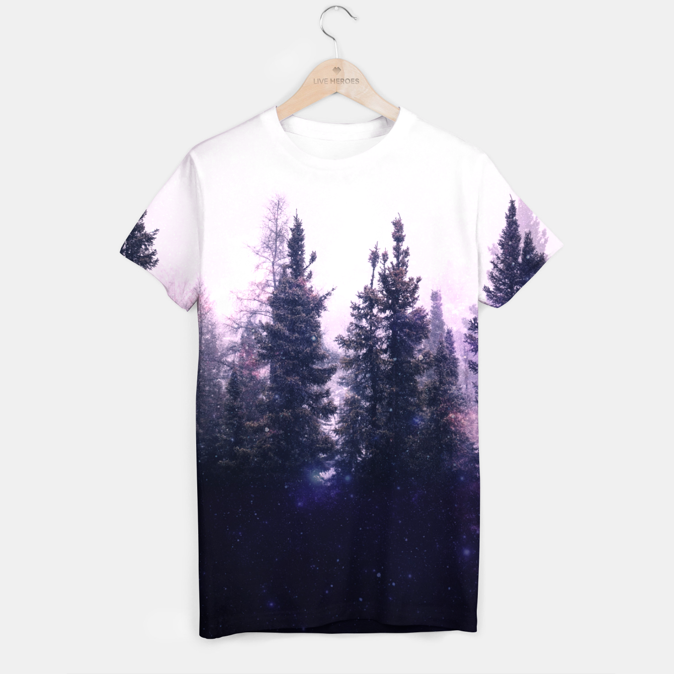 Image of This Forest of Mine T-shirt - Live Heroes