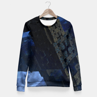 Thumbnail image of Stone Shadow Cubes Fitted Waist Sweater, Live Heroes