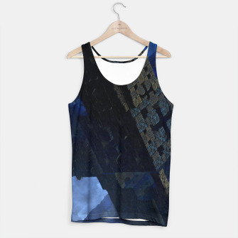 Thumbnail image of Stone Shadow Cubes Tank Top, Live Heroes