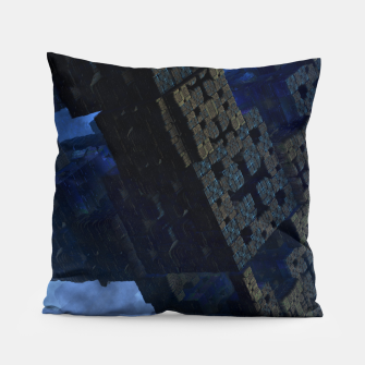 Thumbnail image of Stone Shadow Cubes Pillow, Live Heroes