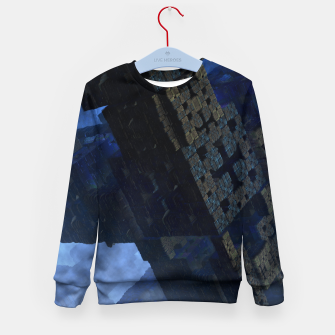 Thumbnail image of Stone Shadow Cubes Kid's Sweater, Live Heroes