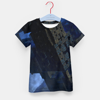 Thumbnail image of Stone Shadow Cubes Kid's T-shirt, Live Heroes
