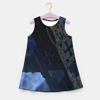 Thumbnail image of Stone Shadow Cubes Girl's Summer Dress, Live Heroes