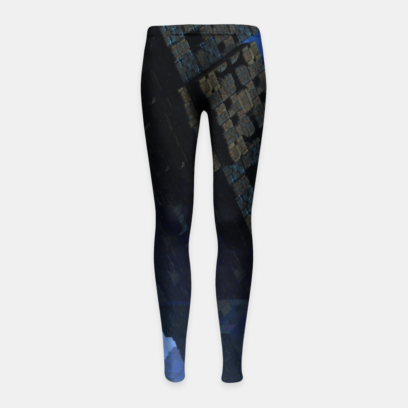 Image of Stone Shadow Cubes Girl's Leggings - Live Heroes