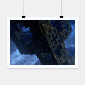 Thumbnail image of Stone Shadow Cubes Poster, Live Heroes