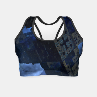 Thumbnail image of Stone Shadow Cubes Crop Top, Live Heroes