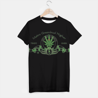 Thumbnail image of Metro Greenbud Higher T-Shirt, Live Heroes
