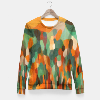 Miniatur TROPICAL MEETING Fitted Waist Sweater, Live Heroes