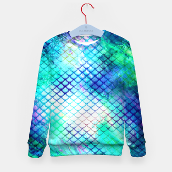 Thumbnail image of Medusa Scale Kid's Sweater, Live Heroes