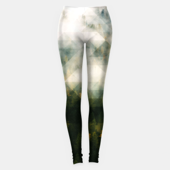 Thumbnail image of LowPoly Forest Leggings, Live Heroes