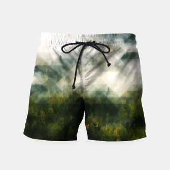 Thumbnail image of LowPoly Forest Badeshorts, Live Heroes