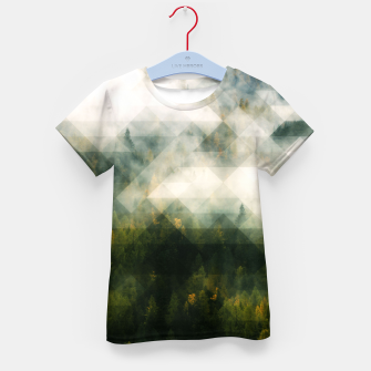 Thumbnail image of LowPoly Forest T-Shirt für Kinder, Live Heroes