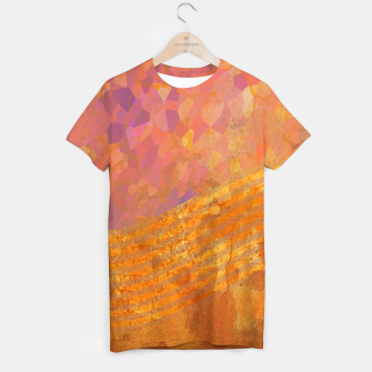 Thumbnail image of Orange Wave T-shirt, Live Heroes