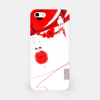 Thumbnail image of Minimalist pulp red  Étui pour Iphone, Live Heroes