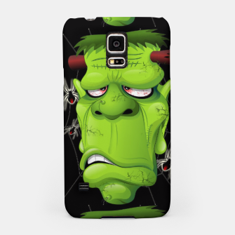Frankenstein Ugly Portrait and Spiders Samsung Case thumbnail image